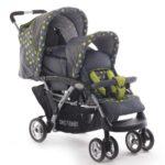 Chic 4 Baby 274 42 Geschwisterwagen DUO Terranova mit Babytragetasche und regenschutz - 1